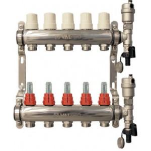 Коллекторный блок со встроенными расходомерами VALTEC Vtc.589.EMNX