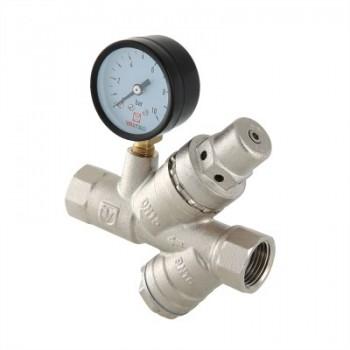 Подпиточный клапан с фильтром механической очистки VALTEC VT.515.N