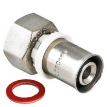 Пресс-фитинг c накидной гайкой VALTEC VTm.222.N