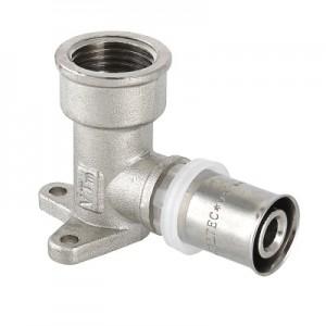 Пресс-фитинг – водорозетка удлиненная VALTEC VTm.254H.N