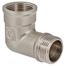 Фитинг резьбовой – угольник с переходом на наружную резьбу  VALTEC VTr.092.N.