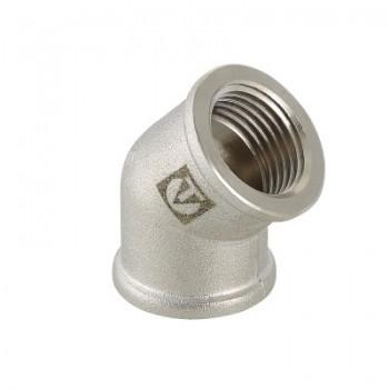 Фитинг резьбовой – угольник 45°  VALTEC VTr.091.N.