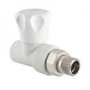 Клапан радиаторный полипропиленовый прямой VALTEС VTp.717.V