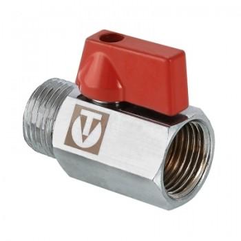 Кран шаровой MINI с внутренней/наружной резьбой VALTEC VT.331.N