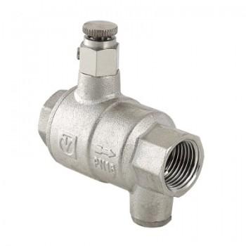 Зворотний клапан VALTEC VT.171.N з дренажем і повітровідвідником