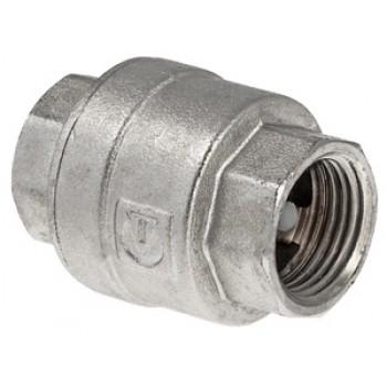 Пружинный никелированный обратный клапан VALTEC VT.161.N