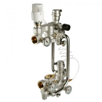 Насосно - смесительный узел для теплого пола VALTEC COMBI VT.COMBI.0.180