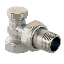 Вентиль для радиатора угловой настроечный VALTEC VT.019.N.