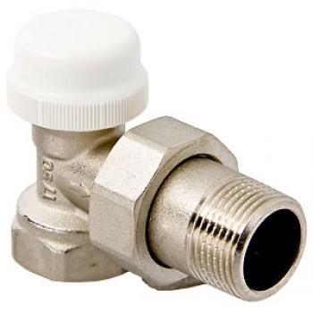 Кран для подключения радиатора термостатический угловой VALTEC VT.031.N.