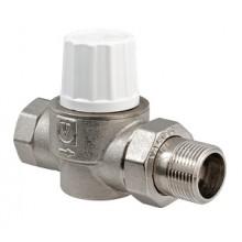 Прямой термостатический кран  с повышенной пропускной способностью VALTEC VT.034.N.