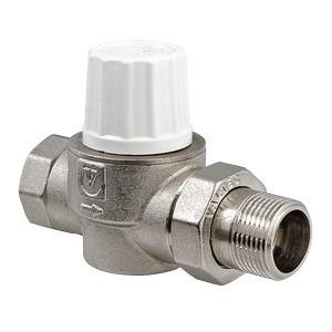 Прямой термостатический кран для подключения радиатора с повышенной пропускной способностью VALTEC VT.034.N.