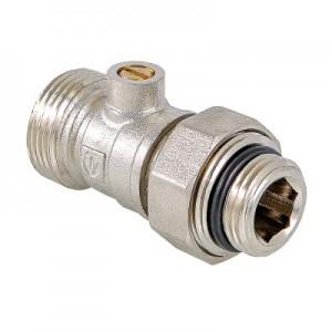 Кран для нижнього підключення радіатора VALTEC VT.345R.N
