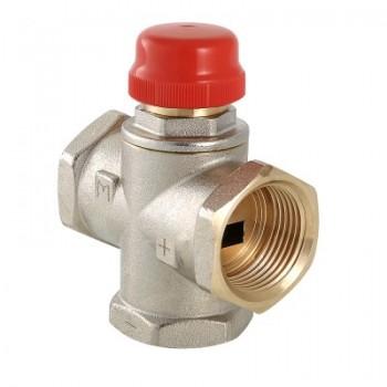 Трехходовой термостатический смесительный клапан VALTEC VT.MR01.N