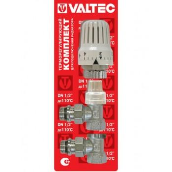 Комплект подключения радиатора терморегулирующий угловой VALTEC VT.045.
