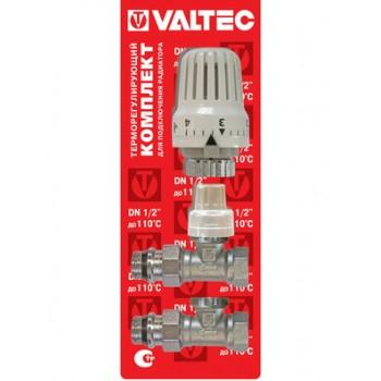 Комплект подключения радиатора терморегулирующий прямой VALTEC VT.046